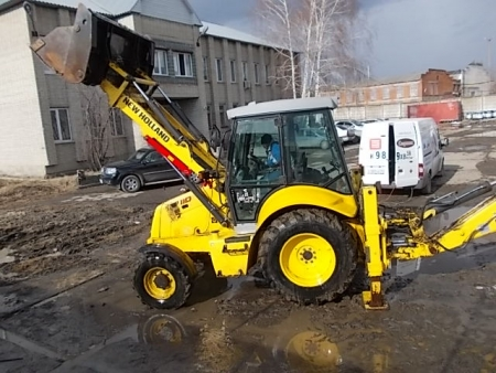 ekskavator pogruzchik new holland b110 4pt
