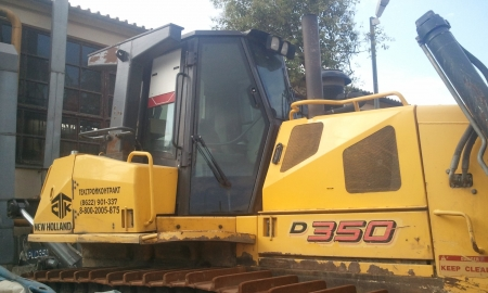 buldozer new holland d350